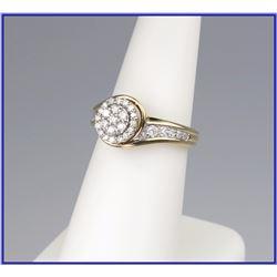 Glittering Diamond Ring