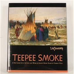 """Teepee Smoke"" Western Art Book"