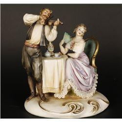Italian Borsato Porcelain Figurine