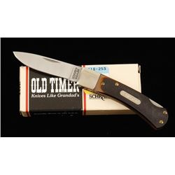 "Schrade ""Old Timer"" Lockback Pocket Knife"