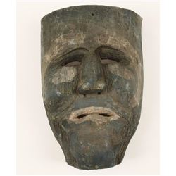 Antique Pacific NW Indian Tribal Death Mask
