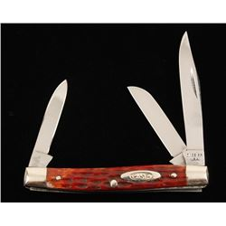 "Case ""Small Stockman"" 3-Bladed Knife"