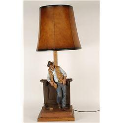 Michael Garman Sculpture Lamp