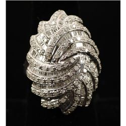 Fancy Ladies Diamond Cocktail Ring