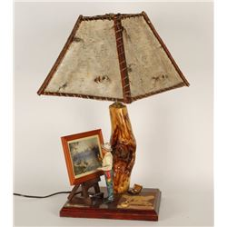 CM Russell Figure Lamp Base