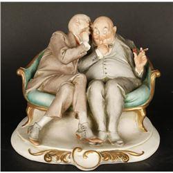 "Cappe Italian Porcelain Figurine ""The Club"""