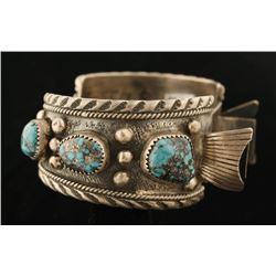 Morenci Turquoise Watchband Cuff
