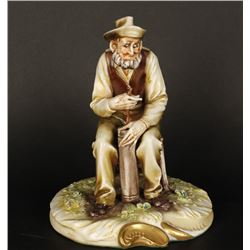 Italian A. Borsato Porcelain Figurine
