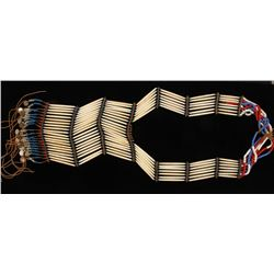 American Indian Woman's Beaded Dance Breast Plate