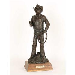 """Charlie"" Original Bronze by Joe Beeler"