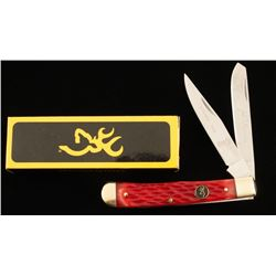 """Browning """"Redbone Trapper"""" Two-Blade Knife"""