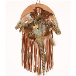 Indian Pheasant Feather Shield