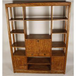 Woodbriar Drexel Bookshelf Room Divider