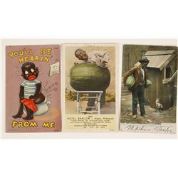 Collection of 11 Black Americana Postcards