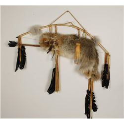 Coyote Pelt Bow & Quiver