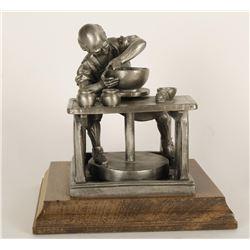 Worcester Pewter Sculpture