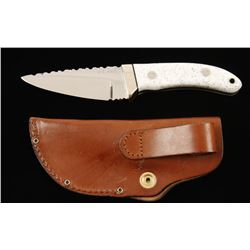 "Custom ""J.E. King"" Fixed Blade Knife"