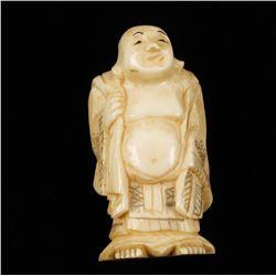 Ivory Standing Buddha Figurine