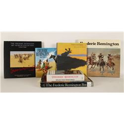 Lot of 7 Frederic Remington Art Books