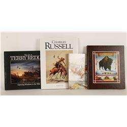 Lot of 5 Western Art Books