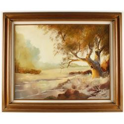 Original Oil on Canvas by Herman Minor