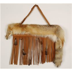 Coyote Pelt Wall Hanging