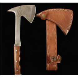 Damascus Steel Tomahawk