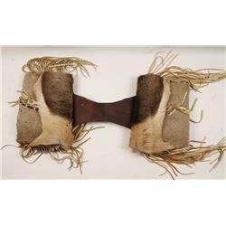 Native American Elk Hide Saddle Bags