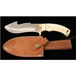 Tool Steel Gut Hook Skinner