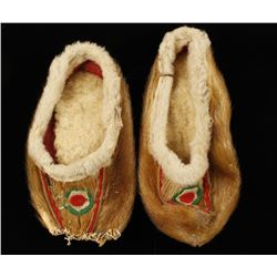 Antique Alaskan Indian Moccasins