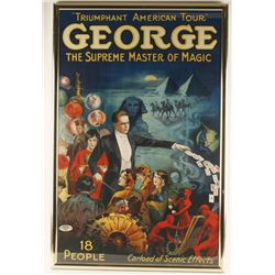 George Master Magician Advertiser