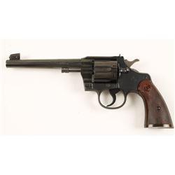 Colt Officers Model Target Cal:.38 Spl SN:755822