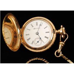 Beautiful Lady's Hamden Pocket Watch