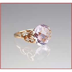 Pretty in Pink Quartz Fashion Ring