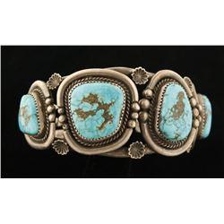 Morenci Turquoise Cuff Bracelet