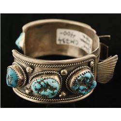 Kingman Turquoise Watchcuff