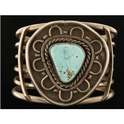 Old Pawn Turquoise Cuff