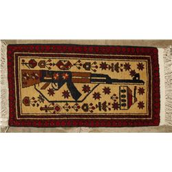 Collection of 2 Afghan War Rugs