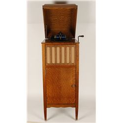 Tiger Wood Edison Victrola