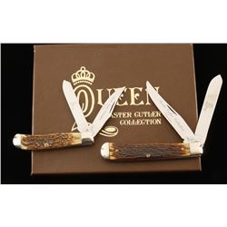 Set of 2 Queen Steel Pocket Knives