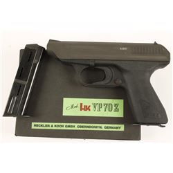 Heckler & Koch VP70Z Cal: 9mm SN: 82686