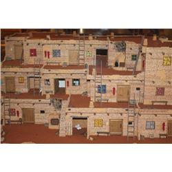 Magnificent Three Story Hopi Pueblo Plaza