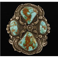 Magnificent High Quality Turquoise Cuff