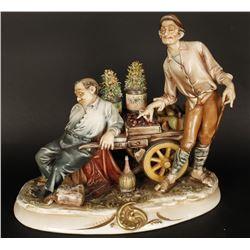 Italian Porcelain Figurine Made by A Borsato