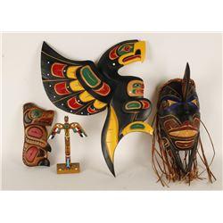 4 Pieces of Northwestern Art
