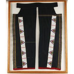 Plains Indian Beaded Leggings