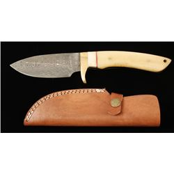 Damascus Steel Skinner