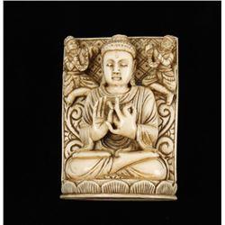 Indian Carved Buddah