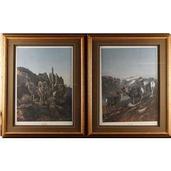 2 Fine Art Prints by Gary Swanson