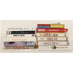 Lot of 13 Biographies of American Westerners